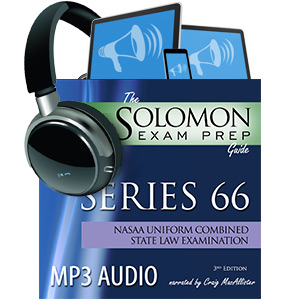 Solomon Exam Prep - Series - Series 66
