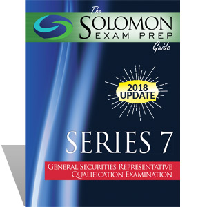 Series 7 Exam Study Guide