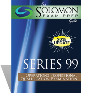 Series 99 Exam Study Guide