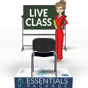 Live Class & Essentials Study Package