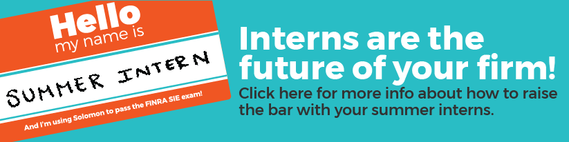 Bring the SIE to your summer internship program
