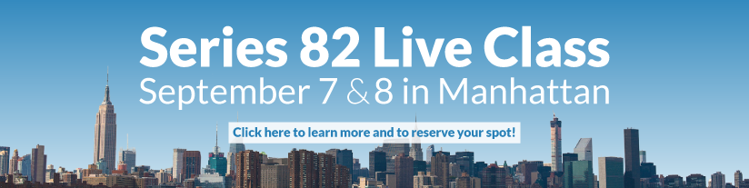 Series 82 Live Class in Manhattan